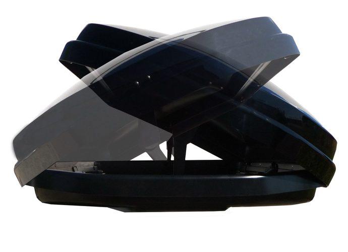 Kamei Corvara S 390 box dachowy Czarny połysk