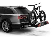 Zabezpieczenie roweru na bagażniku i bagażnika na haku (zamki w komplecie)