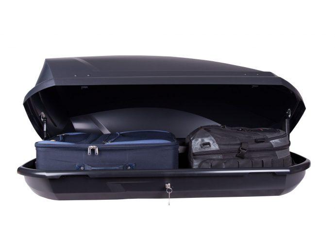 Box dachowy Taurus Adventure 300 czarny matowy
