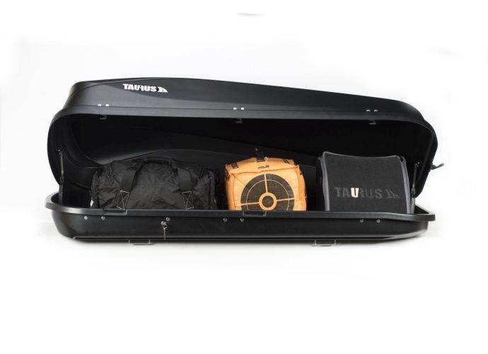 Box dachowy Taurus Easy 430 czarny matowy