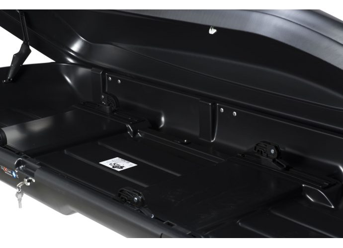 Box dachowy Taurus Xtreme 400 czarny karbon