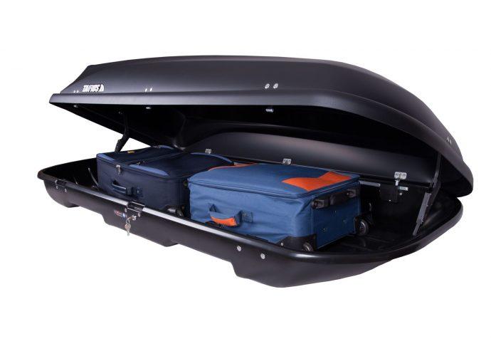 Box dachowy Taurus Xtreme II 600 czarny karbon