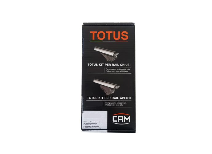 Cam Totus stopy do samochodów z relingami dachowymi 2165