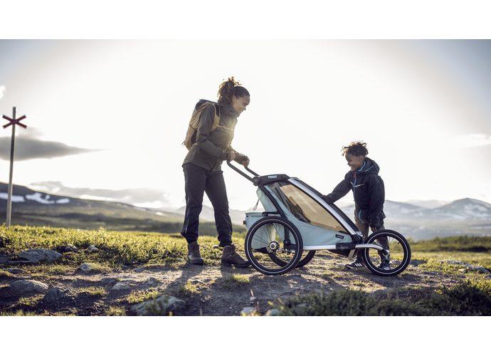 Thule Chariot Cross2 przyczepka rowerowa MajolicaBlue - ciemny niebieski