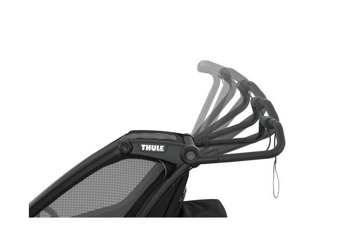 Thule Chariot Sport2 przyczepka rowerowa MidnBlack - czarna