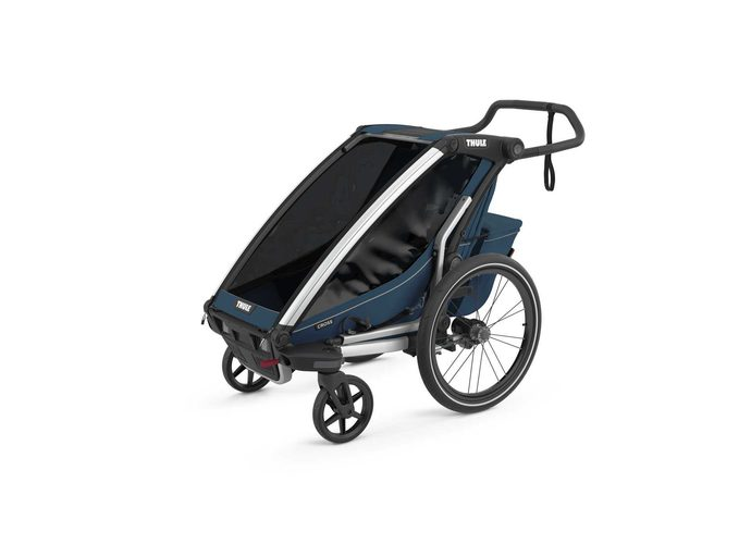 Thule Chariot Cross1 przyczepka rowerowa MajolicaBlue - ciemny niebieski