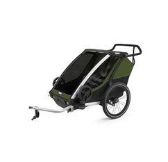 Thule Chariot Cab przyczepka rowerowa CypressGreen - ciemny zielony