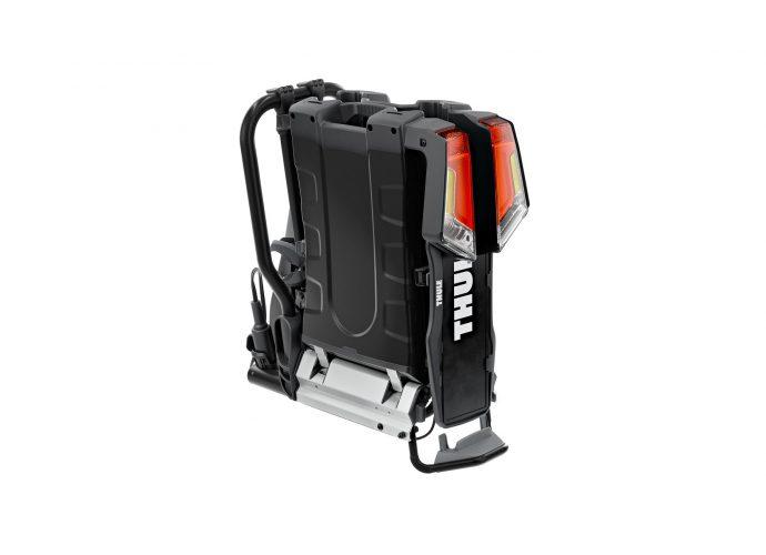 Thule EasyFold XT czarny bagażnik na hak na 2 rowery