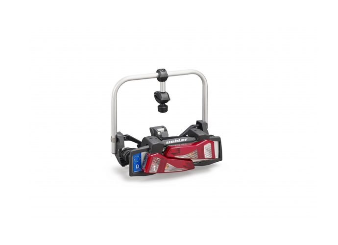 Uebler F14 - bagażnik na hak, na 1 rower