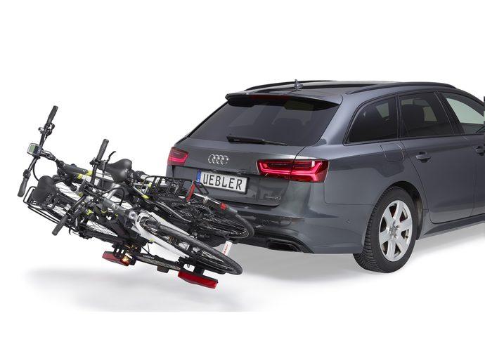 Uebler i21  bagażnik rowerowy na hak 2 rowery