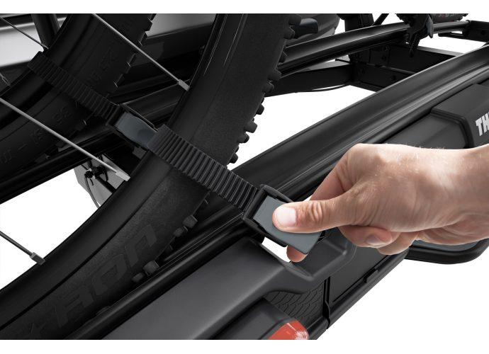 Thule VeloSpace XT czarny bagażnik na hak na 2 rowery