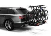 Duża ładowność umożliwia przewożenie rowerów elektrycznych i ciężkich rowerów górskich