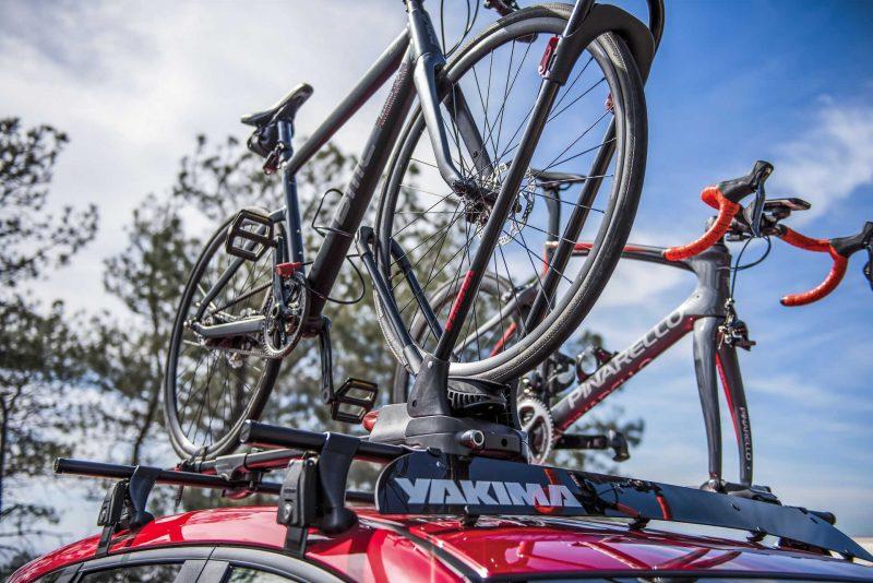 Yakima FrontLoader wyróżniony w rankingu bagażników rowerowych