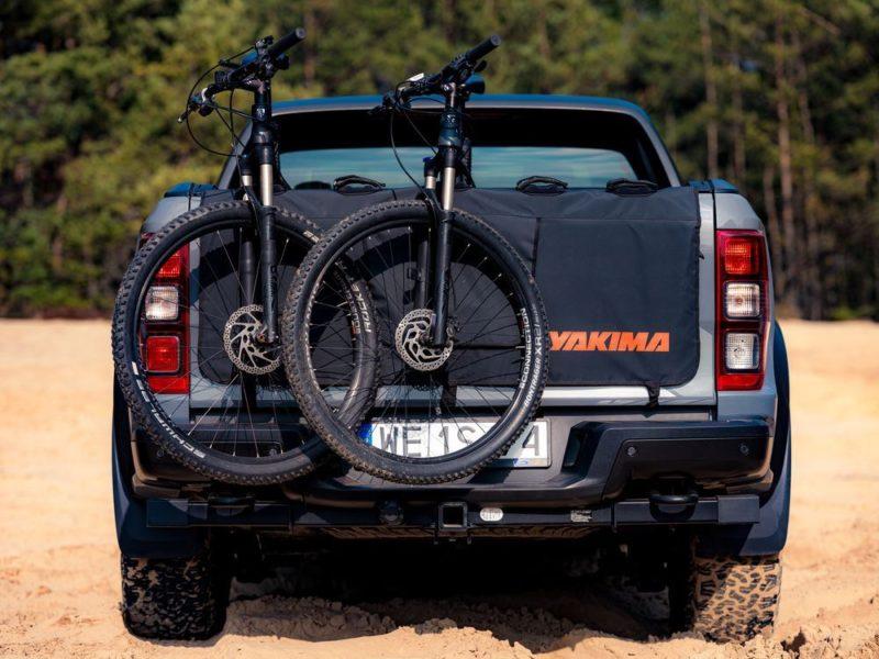 Yakima GateKeeper – bagażnik rowerowy na pakę pick-upa