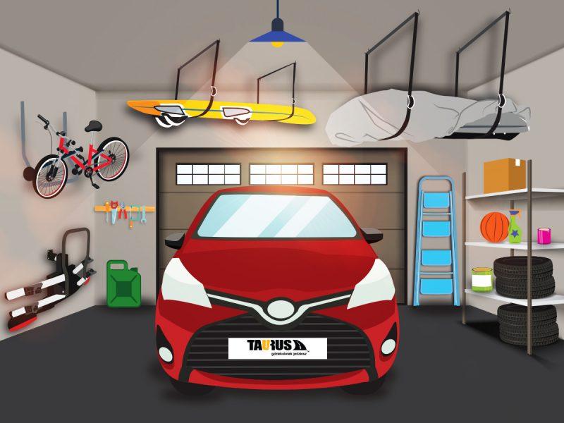 Jak uporządkować i zorganizować przestrzeń w garażu