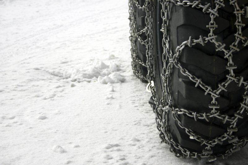 Przepisy dotyczące łańcuchów śniegowych w Europie