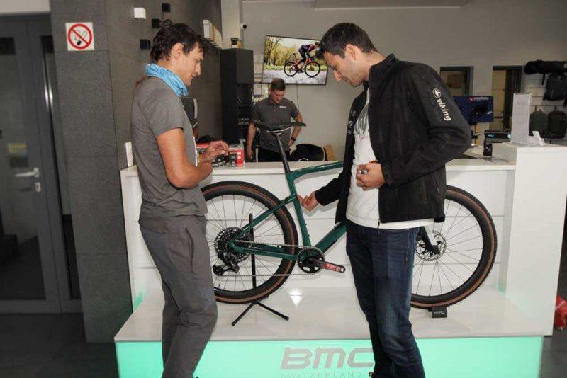 Adam Bielecki został Ambasadorem marki profesjonalnych rowerów BMC Switzerland