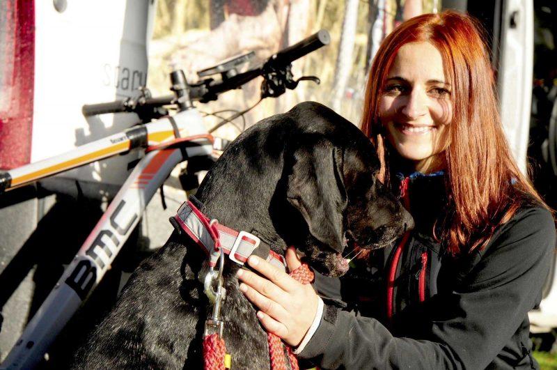 Agnieszka Jarecka srebrną medalistką mistrzostw Europy w bikejoringu