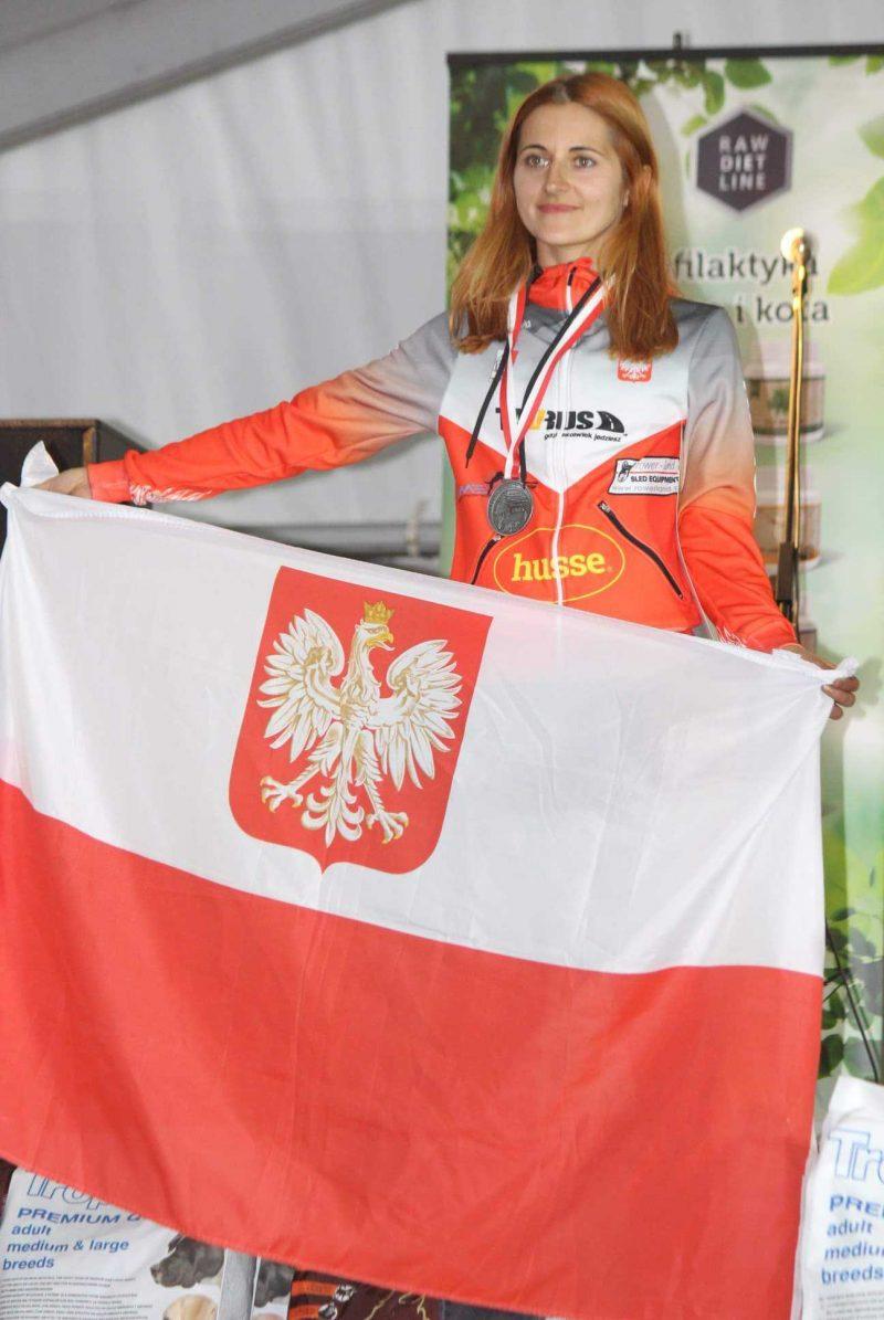 Agnieszka Jarecka wicemistrzynią świata w bikejoringu