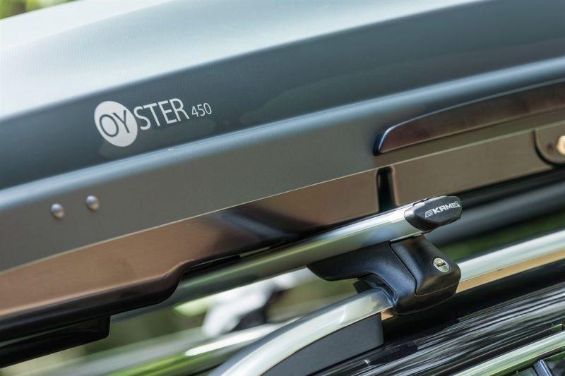 Box dachowy Kamei Oyster 450 uzyskuje najwyższy wynik w teście bezpieczeństwa Crash Test